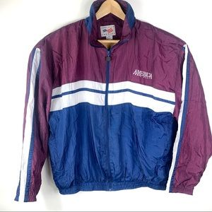 Vintage 90s Perry Ellis America Windbreaker